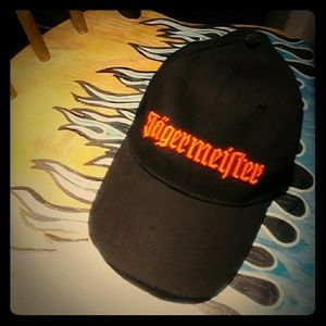 Jagermeister cap black & orange